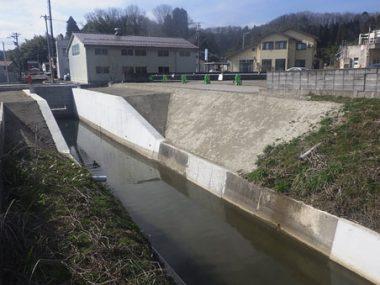 準用河川守山川改修工事