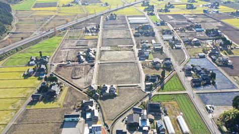 ほ場整備 今泉地区 ほ場整備第6工区工事 完工